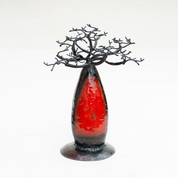 Baobab-in-ferro-battuto-colorato-cm-18-rosso-11534008000_1
