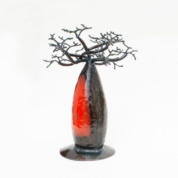 Baobab-in-ferro-battuto-colorato-cm-18-rosso-11534008000_2